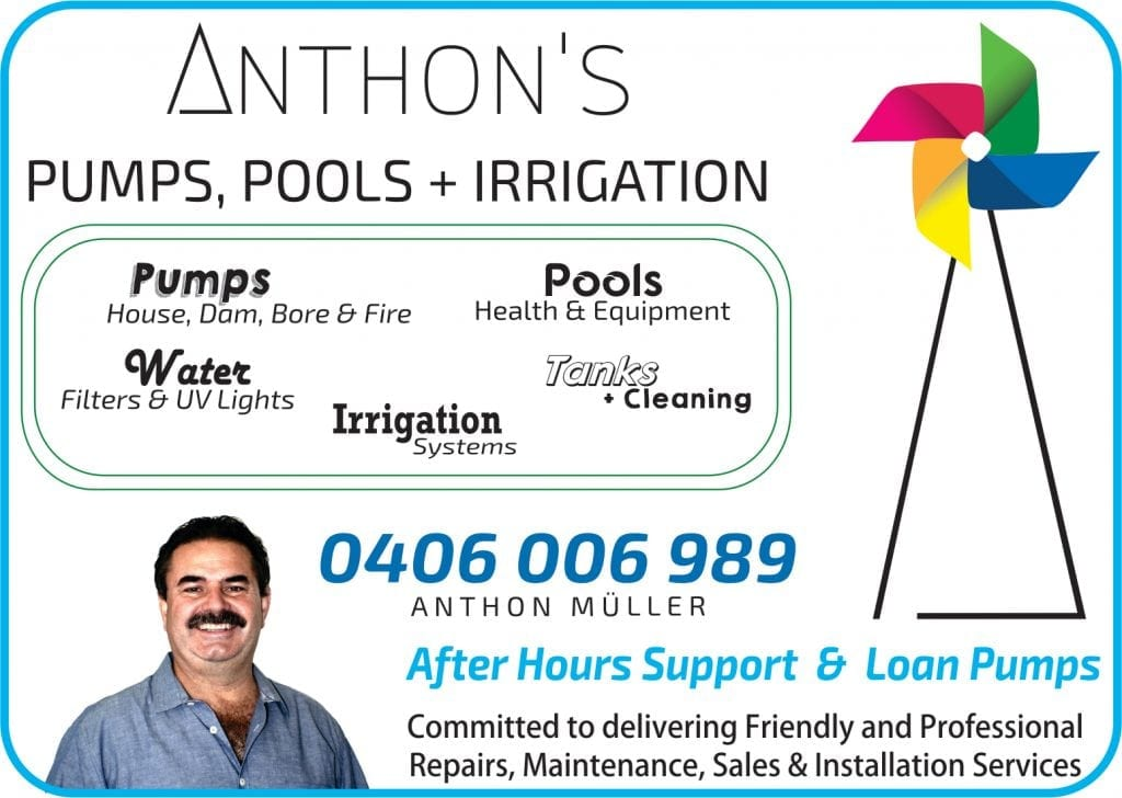 Anthons Pumps, Pools & Irrigation