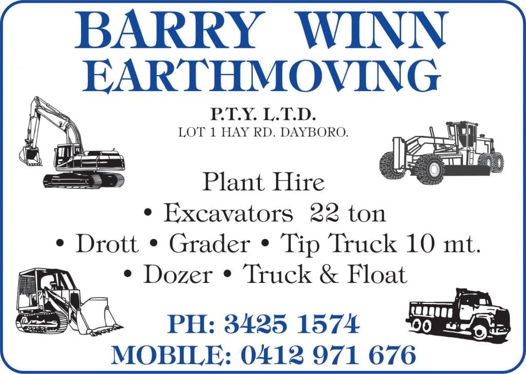 Dayboro Barry Wynn Earthmoving