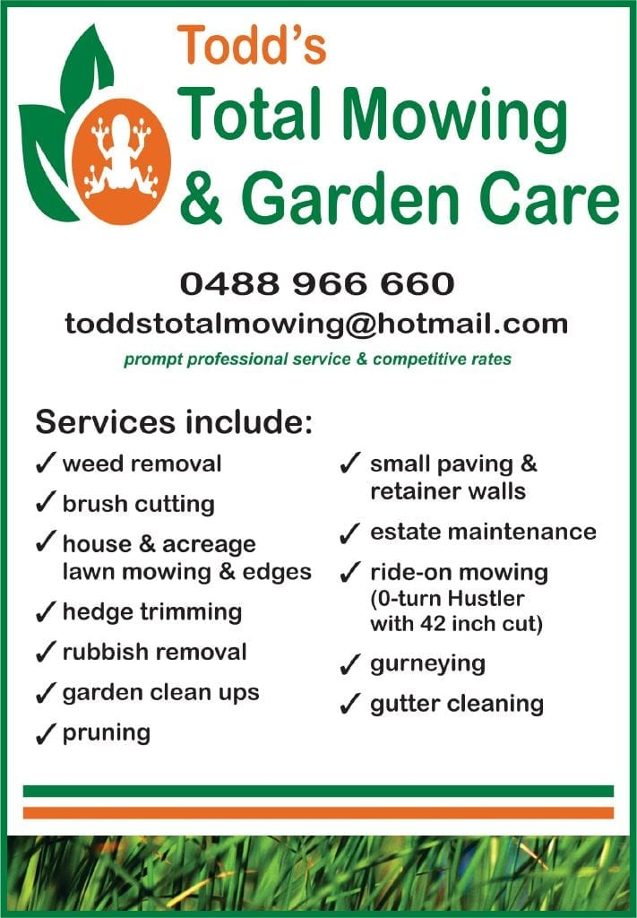 Todd's Total Mowing & Garden Care