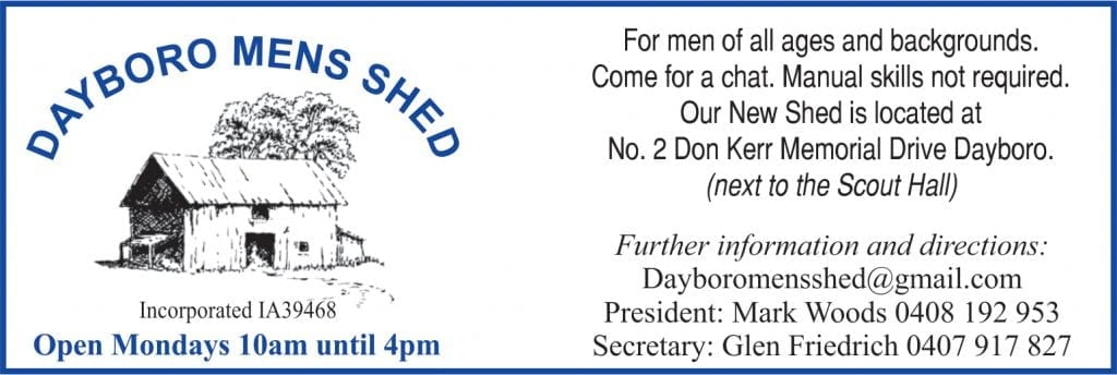 Dayboro Mens Shed