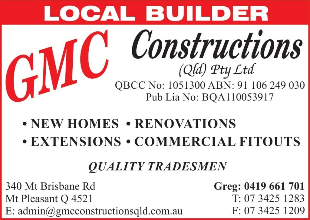 GMGMC Constructions Dayboro New homes renovations extensions and commercial fit outs. C Constructions Dayboro New homes renovations extenstions and commercial fitouts.