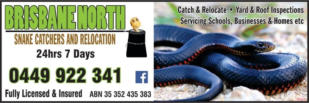 Brisbane North Snake Catchers and Relocation