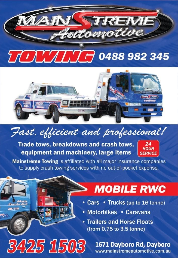 Dayboro Mainstreme Towing