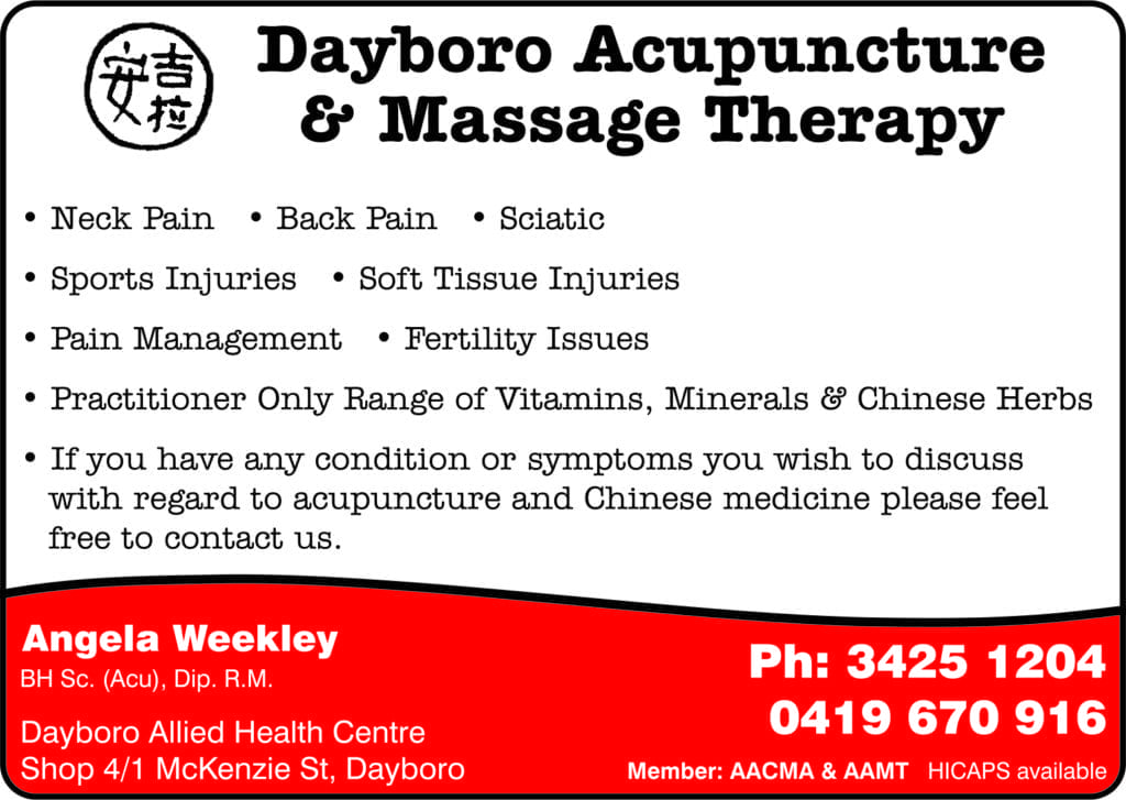 Dayboro Acupuncture & Massage Therapy