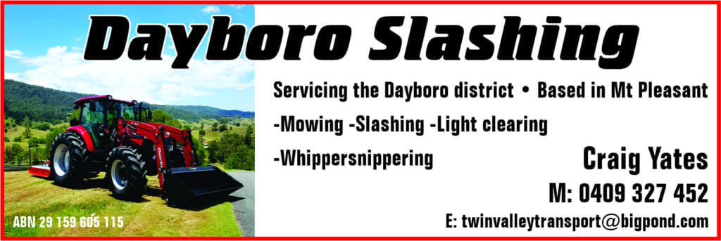 Dayboro Slashing