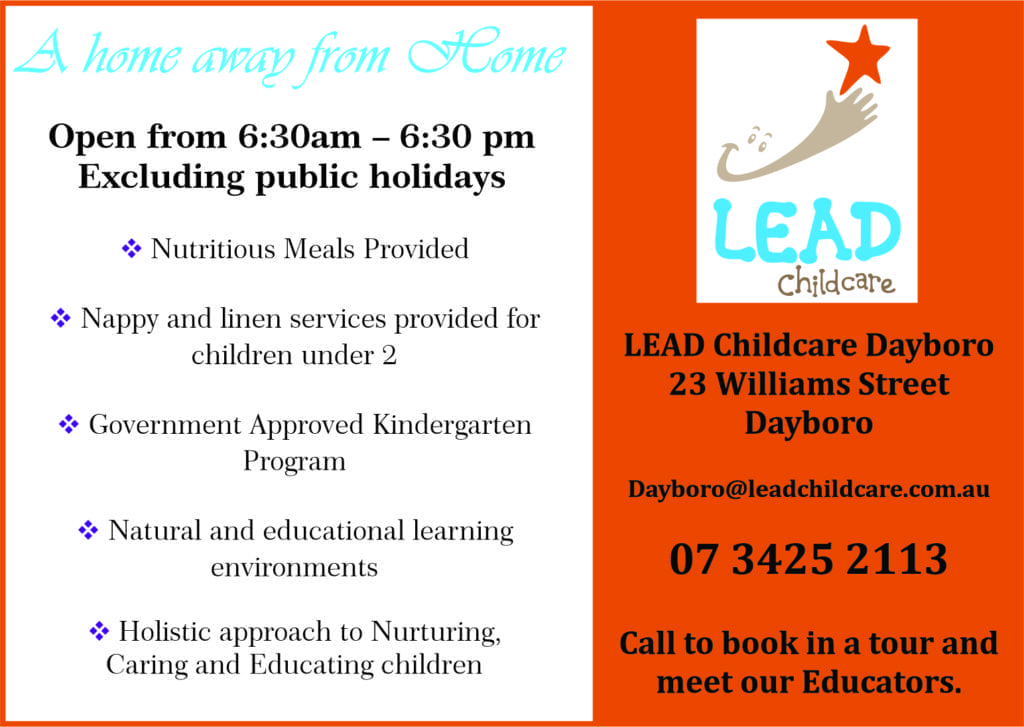 Dayboro Lead Childcare