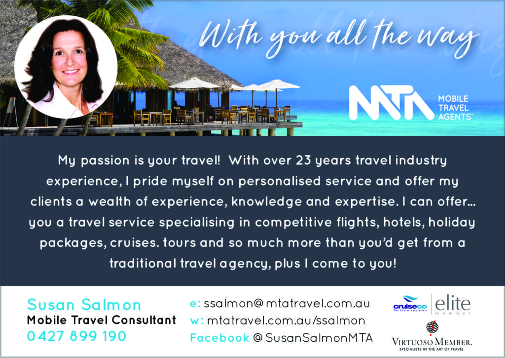 Susan Salmon – Mobile Travel Agent