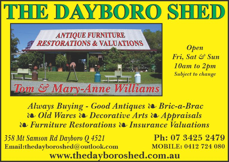 The Dayboro Shed