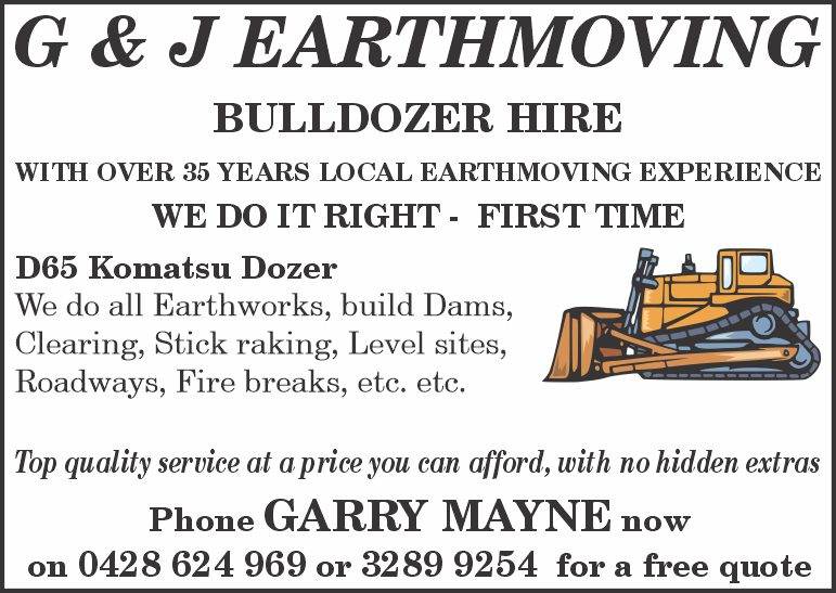 G & J Earthmoving